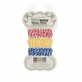 Fil à broder Sew easy - Twine primary