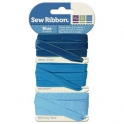 Rubans Sew Ribbon - Assortiment bleu