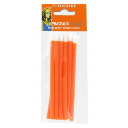 Pinceaux colle - lot de 10