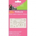 Moule modelage silicone - gourmandises d'hiver - WeMoule