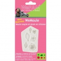 Moule silicone modelage - roses et feuilles - WeMoule