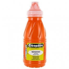 Gouache Cléopâtre - Néfertari - Orange - 250 ml