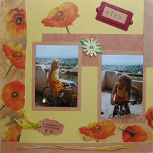page-scrapbooking-enfant-a-velo