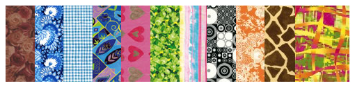 assortiment de papier Decopatch