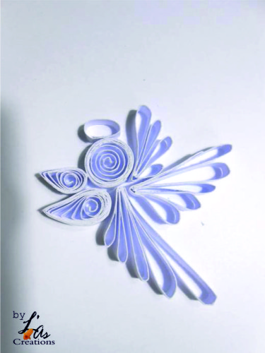quilling création ange